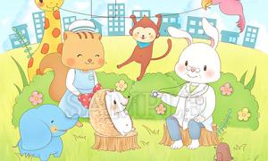小児科医院のポスター