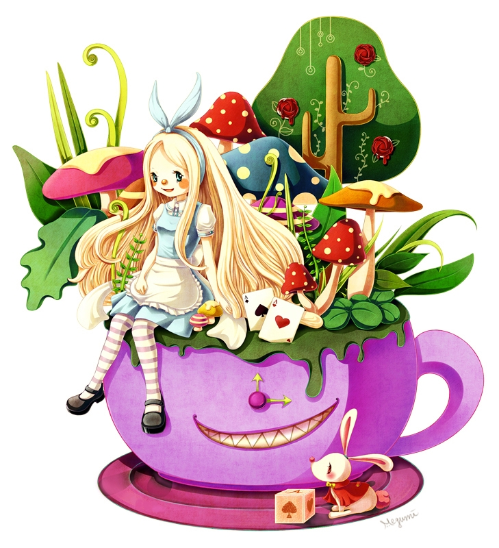 Alice's Tea Cups