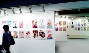 桜エキシビジョン展示風景13