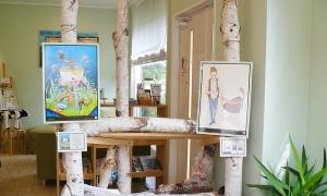 ギフカフェ展示風景